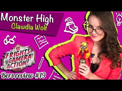 Clawdia Wolf Frights, Camera, Action! (Клавдия Вульф Страх, Камера, Мотор!) Monster Hig… видео