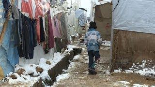 Syrian Refugee Children - Struggle in Lebanon Winter | UNICEF