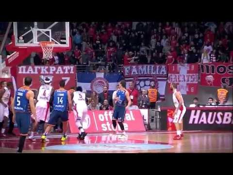 #hatmakers Block of the Night by Othello Hunter, Olympiacos Piraeus.