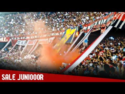Recibimiento de Frente Rojiblanco Sur - Junior 0-4 Nacional | 17/Oct/15 - Frente Rojiblanco Sur - Junior de Barranquilla