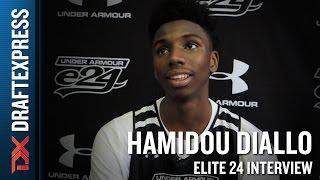 Hamidou Diallo Elite 24 Interview