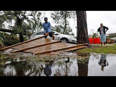 Ο τυφώνας Μάικλ σάρωσε τη Φλόριντα