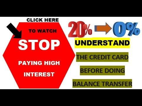 Credit card balance transfer. how does balance transfer work?