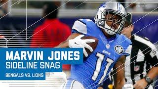 Marvin Jones' Magnificent Sideline Catch | Bengals vs. Lions | NFL by NFL