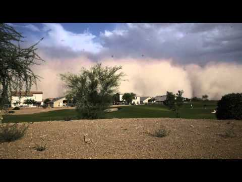 Phoenix Sandstorm Timelapse