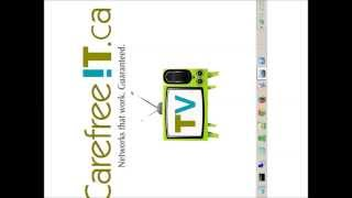 http://www.carefreeit.ca Have you ever needed to flip your computer display upside down or sideways? Perhaps you're looking to view graphics from another ang...