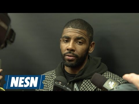 Video: Kyrie Irving On Celtics Giving Bucks Their First Loss Of The Season
