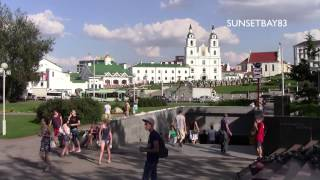 Minsk Belarus  City pictures : Minsk, Belarus - August 2013 - Short tour of the city