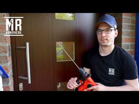 ✅ Haustür selber einbauen ! Montage Anleitung Schritt für Schritt