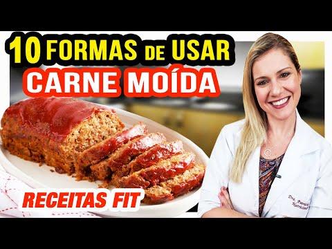Nutricionista - 10 Formas de Usar Carne Moída na Dieta [RECEITAS FIT Fáceis e Rápidas]