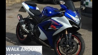 5. Suzuki GSXR 1000 K7 Specifications, Walk Around & Onboard (1080p)