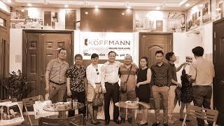 Koffmann và các đại lý tại Vietbuild Hà Nội 2018