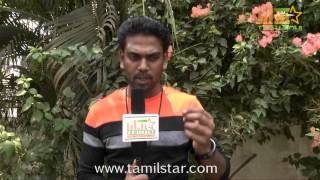 Saran Speaks at Muthu Kumar Wanted Movie Shooting Spot