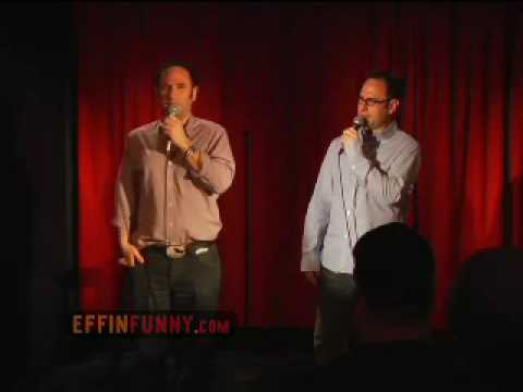 Stand Up Comedy ( Dr. Green Thumb) by Sklar Brothers on EffinFunny