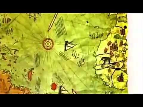 Ottoman admiral and cartographer Piri Reis Maps of the World & Antarctica