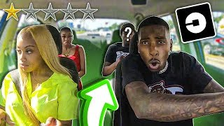 Being UBER Drivers FOR A RAPPER!!!😱 **Went Terrible**