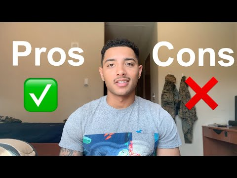 Pros and Cons of being a Marine