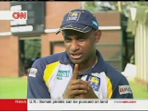 Sanath Jayasuriya on CNN Talk Asia