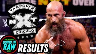 Video WWE NXT TAKEOVER CHICAGO 2 REVIEW & RESULTS! (Going In Raw Pro Wrestling Podcast) MP3, 3GP, MP4, WEBM, AVI, FLV Juni 2018
