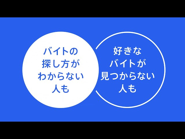 Indeed ジョブアラート説明 「バイト篇」 - YouTube