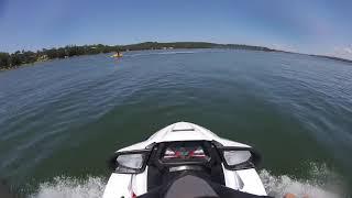 10. YAMAHA VXR 1800 (wave jumping/ broken ribs)