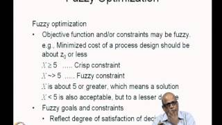 Mod-07 Lec-34 Fuzzy Optimization (1)