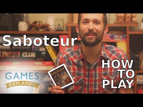 How To Play Saboteur - Games Explained