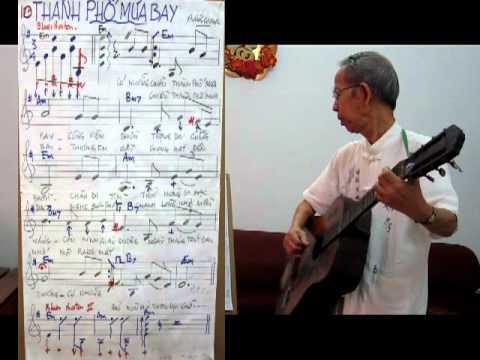 Hoc Guitar bai 10 - Dieu Blue Boston - Thanh Pho mua bay