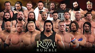 Nonton WWE 2K17 Royal Rumble - 30 Man Royal Rumble Match! Film Subtitle Indonesia Streaming Movie Download
