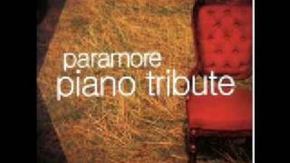 Paramore Piano Tribute - That's What You Get