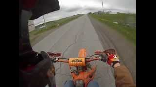 9. KTM 125 sx Top Speed - GoPro