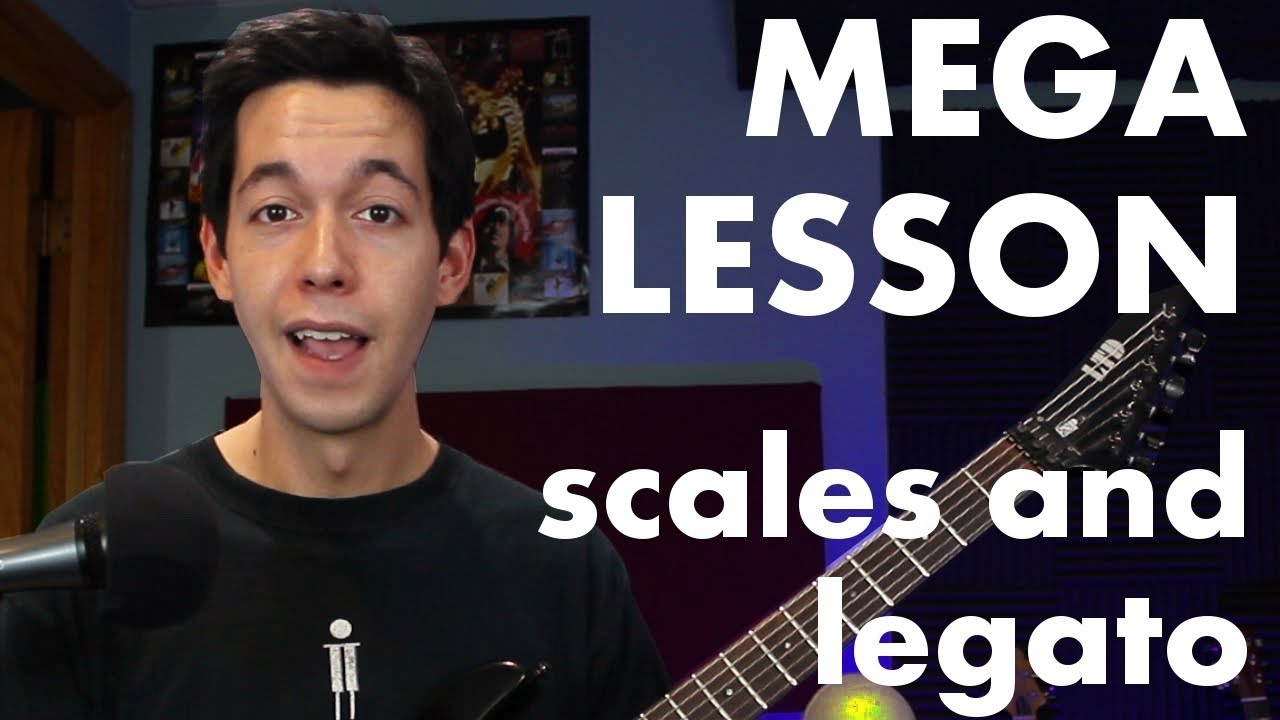 How to combine Scales and Legato for MAXIMUM SHRED [MEGA Guitar Lesson]