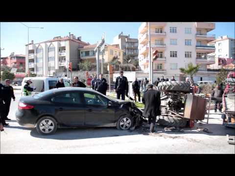 20 Şubat 2015 Otomobil-Traktör Kazası
