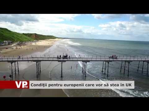 Condiții pentru europenii care vor sa stea în UK