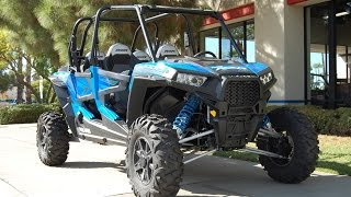 6. 2015 Polaris RZR XP 4 1000 EPS Voodoo Blue