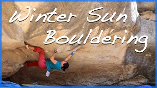 Bouldering in Alcañiz by The Climbing Nomads