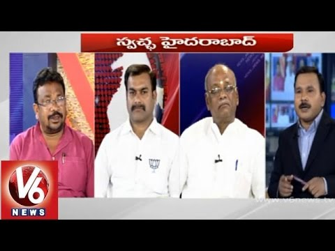 Special discussion on Swachha Hyderabad  7PM Discussion