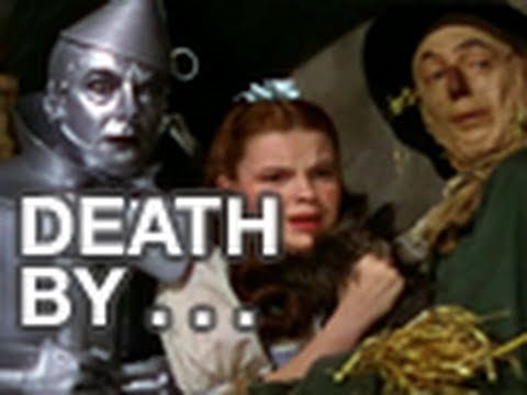movieclipsGAMES - Play the interactive movie game with clips from the film The Wizard of Oz. Guess how the person dies in the scene by choosing the murder weapon.