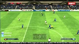 Getafe vs Valencia - Jornada 4 Liga BBVA 2014/2015 @ FIFA 15 PS3 HD HD