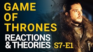 !!! Spoiler Alert !! Game of Thrones Season 7 Premiere . Here it is. Probably the biggest TV show ever (for some reason) is back. Join us for a live discussi...