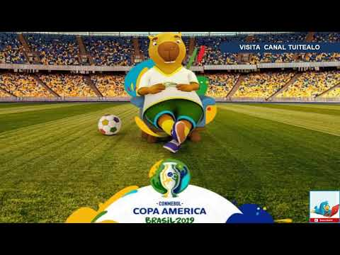 Bautizada la mascota de la Copa América con el nombre de Zizito