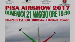 Preview video Esibizione alla MAF PISA - Manifestazione aerea con oltre 120.000 spettatori