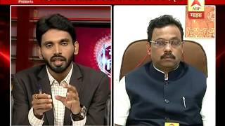 Financial constrains should not affect Education -Education Minister Vinod Tawde on ABP Majha