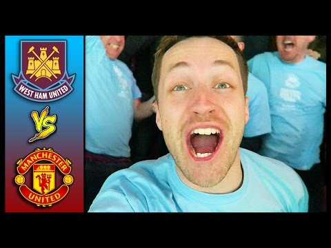 THE FINAL EVER GAME AT UPTON PARK! WEST HAM VS MAN UNITED - Premier League 15/16 #FAREWELLBOLEYN