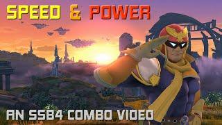 Speed & Power – A Captain Falcon Combo Video!