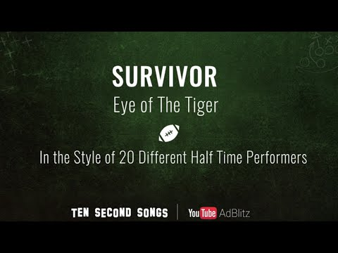 Eye Of The Tiger In 20 Super Bowl Styles!