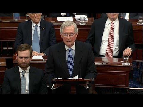 USA: Senat spricht Präsident Trump in Impeachmentverfahren von allen Vorwürfen frei