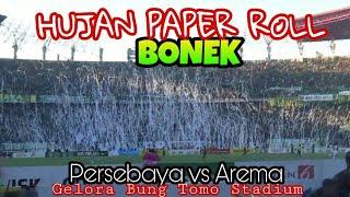 Video Kereenn..!! Paper Roll Rain Bonek di GBT surabaya | Persebaya vs Arema MP3, 3GP, MP4, WEBM, AVI, FLV Agustus 2018
