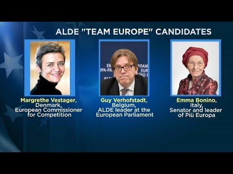 """ALDE: Η """"Team Europe"""" των Φιλελευθέρων εν όψει ευρωεκλογών"""