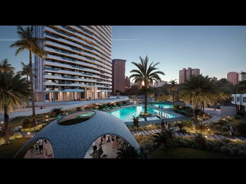Buy an apartment with sea views in Benidorm from the construction company. Prices for new buildings on the Costa Blanca